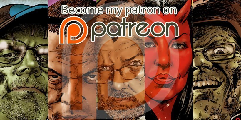 Support Gruesome Magazine with Patreon