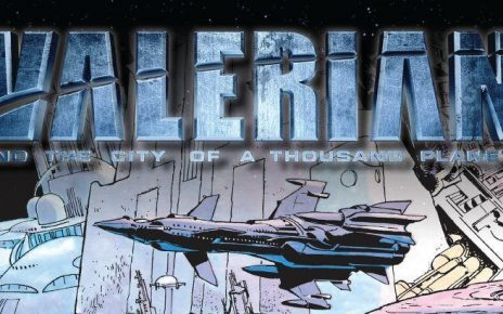 "Free Comic Book - ""Valerian and the City of a Thousand Planets"""
