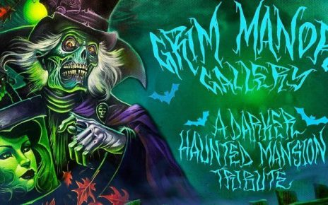 Grim Manner Gallery - A Darker Haunted Mansion Tribute