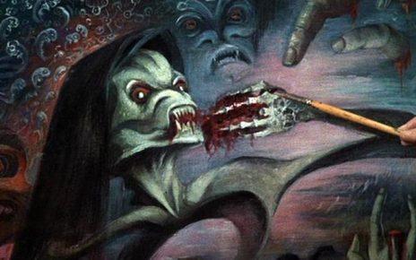 The Creeping Flesh - Painting