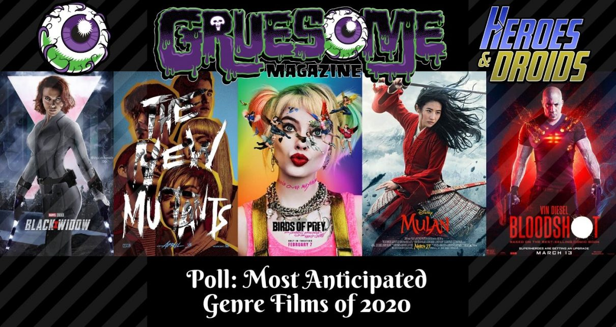 [Poll] The Most Anticipated Genre/SciFi Films of 2020