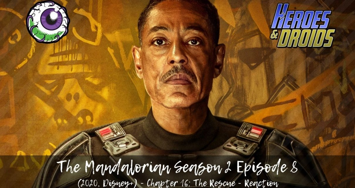 THE MANDALORIAN (2020, Disney+) Season 2 Episode 8 - The Rescue Reaction - Simply Mind-blowing