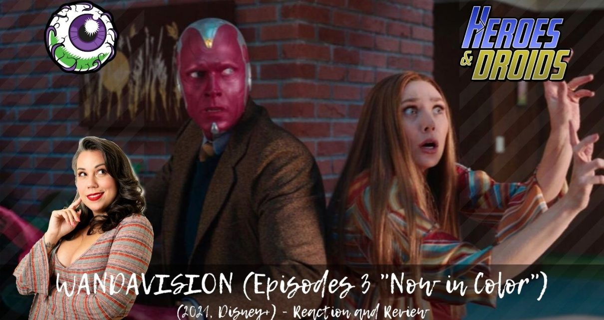 WANDAVISION (2021, Disney+) Episode 3 REACTION - The MCU Welcomes Billy and Tommy Maximoff