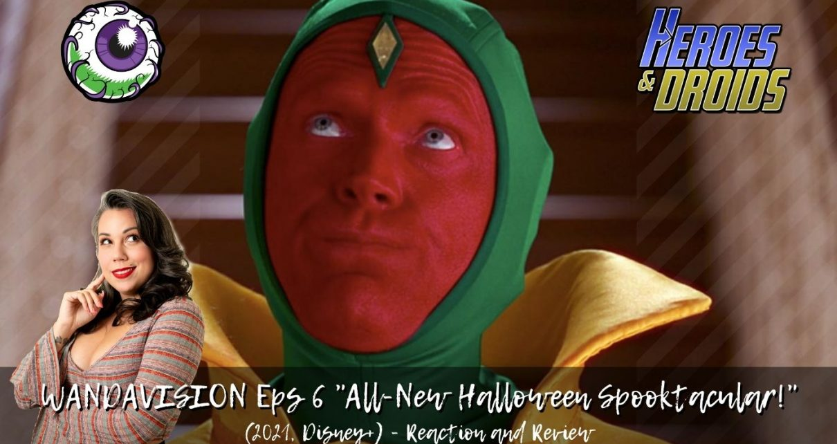 "WANDAVISION (2021, Disney+) Episode 6 REACTION and REVIEW ""All-New Halloween Spooktacular!"""