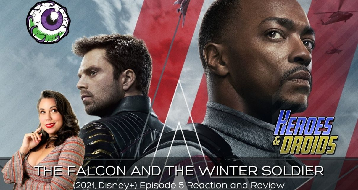 """THE FALCON AND THE WINTER SOLDIER (2021) Eps 5 """"Truth"""" Reaction and Review"""